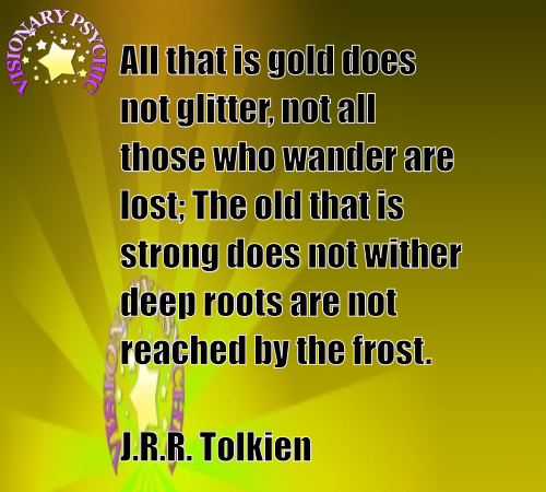 All That Is Gold Does Not Glitter