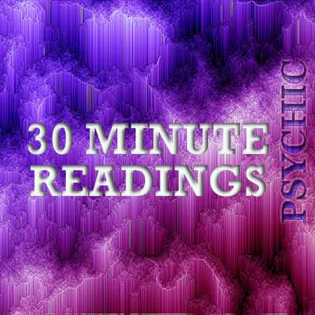 30 Min psychic readings